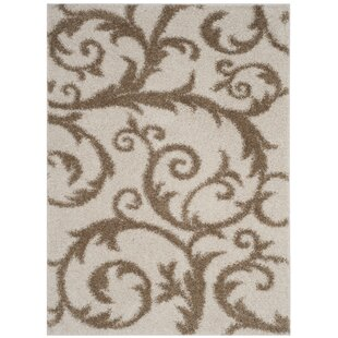 Whitby Ivory/Beige Rug by Charlton Home