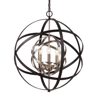 Rhinecliff 3-Light Globe Pendant