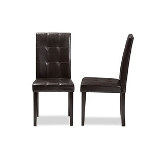 Hafley Upholstered Dining Chair (Set of 2) by Charlton Home