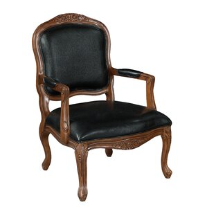 Upholstered Armchair by Coast to Coast Imports LLC