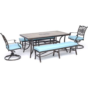 Bucci 5 Piece Dining Set