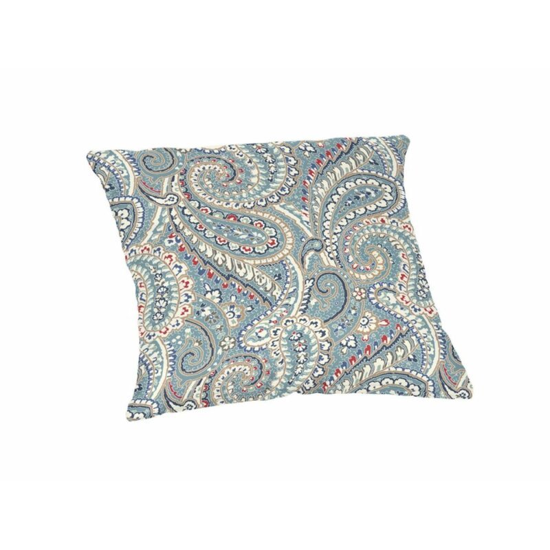 Blue Paisley Pillow 16 X 16 100/% Polyester