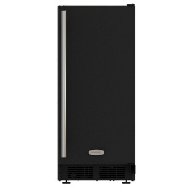 """15"""""""" 25 lb. Daily Production Built-In Ice Maker Marvel Finish: Black -  ML15CRS1XB"""