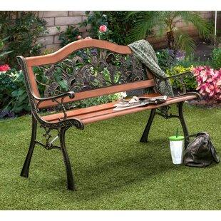 Fleur De Lis Living Hillary Outdoor Garden Bench