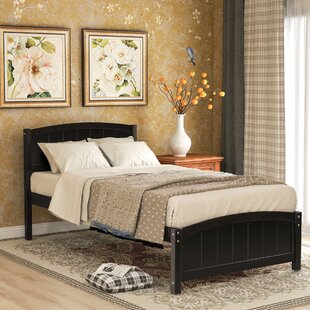 Murtaza Twin Sleigh Bed by Red Barrel Studio