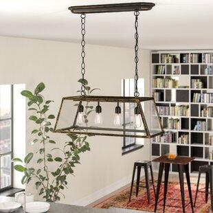 Trent Austin Design Suisun City 4-Light Kitchen Island Pendant