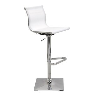 Emmaline Height Adjustable Swivel Bar Stool By 17 Stories