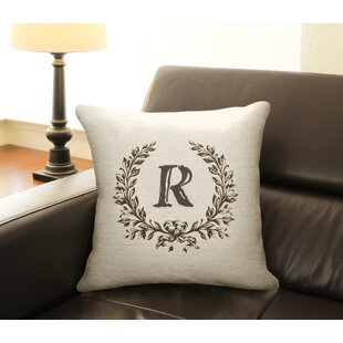 Initial Pillow Wayfair