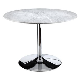 Oyler Marble Dining Table by Orren Ellis