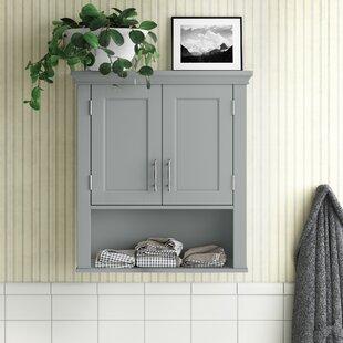 Gray Bathroom Wall Cabinets Wayfair