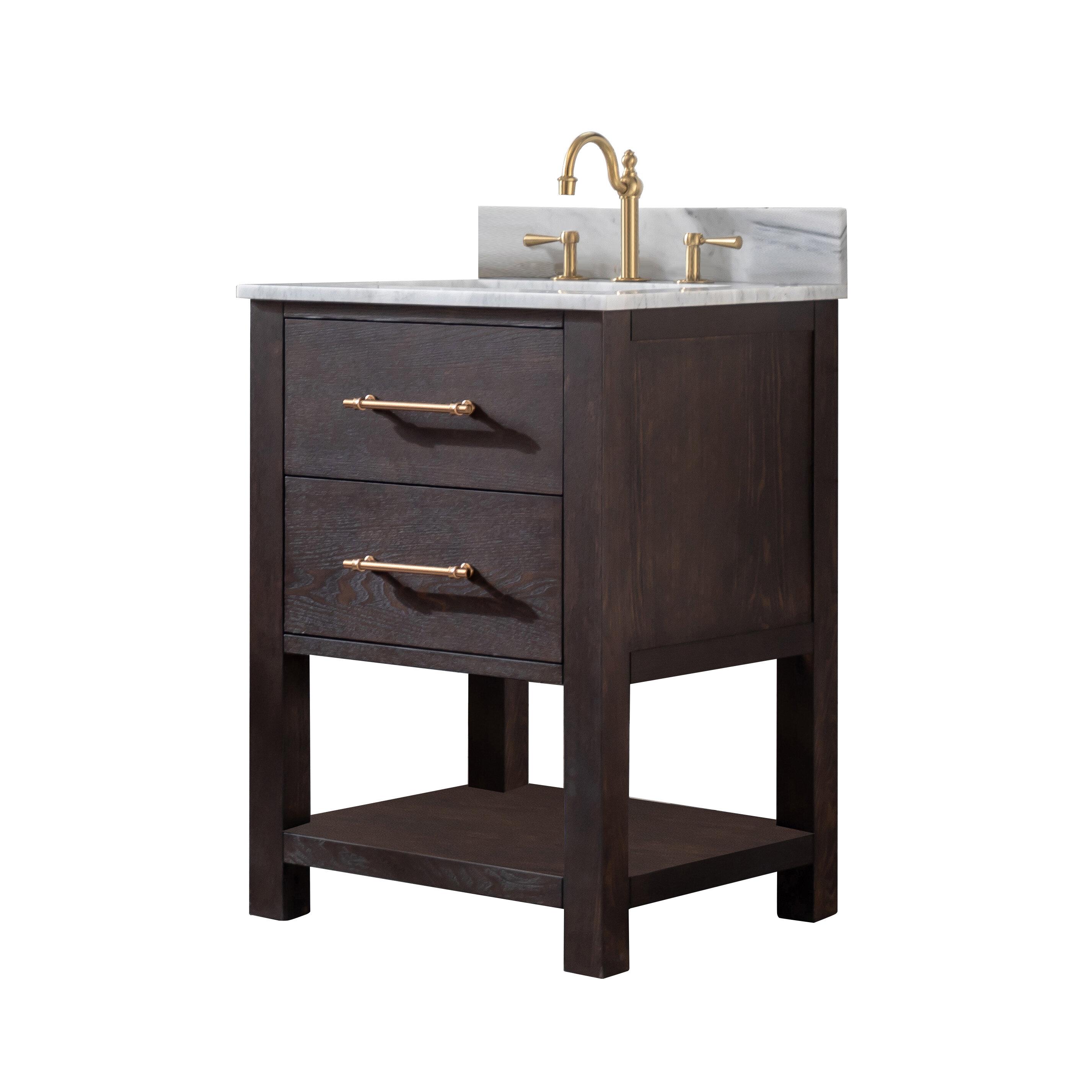 Burchette Fouke 24 Single Bathroom Vanity Set Reviews Birch Lane