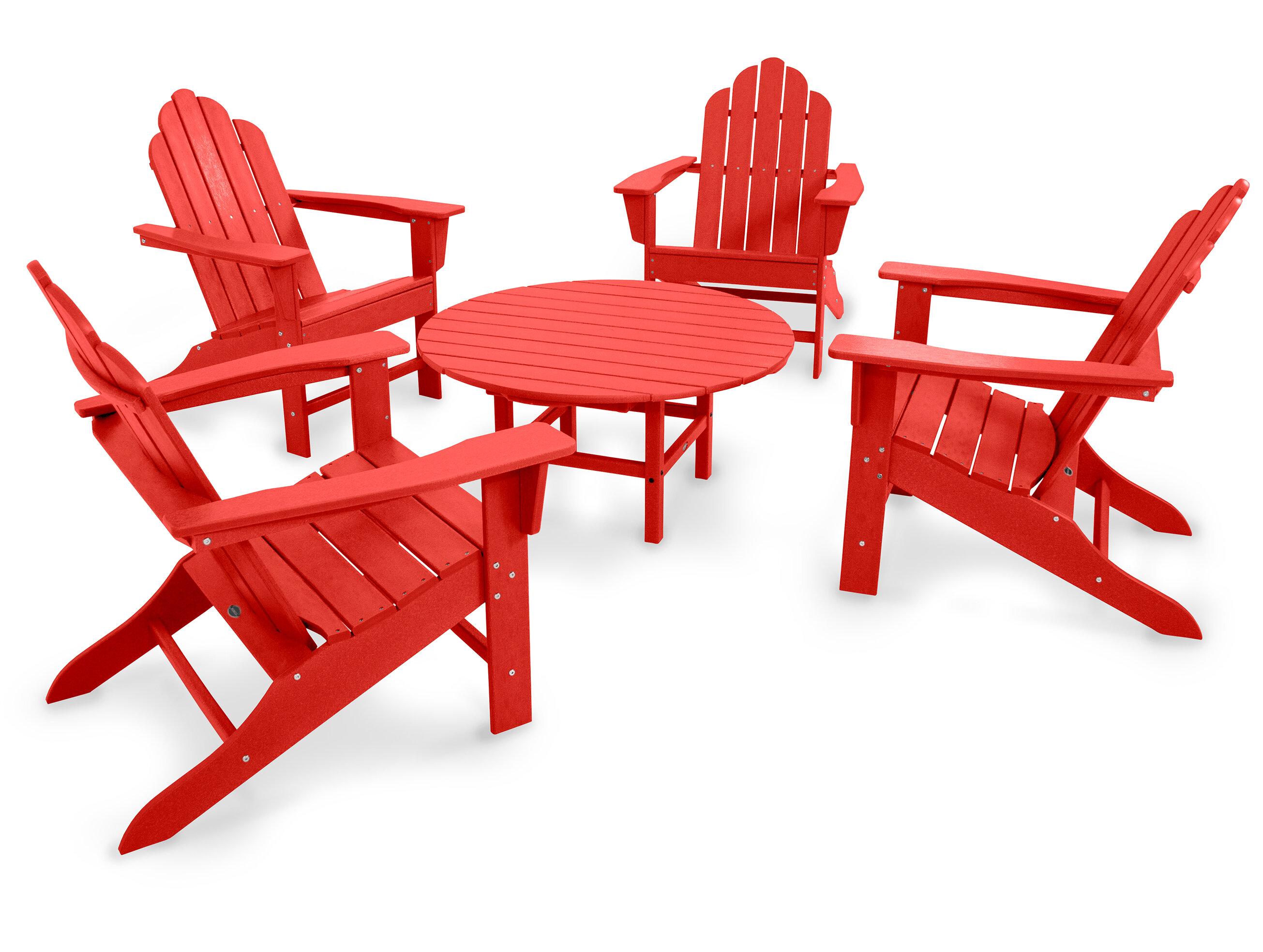 Polywood Long Island 5 Piece Seating