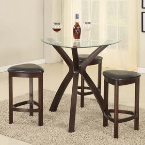 Burnell 4 Piece Counter Height Pub Table ..