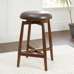 Read Reviews Castorena Modern 24 Swivel Bar Stool by George Oliver Reviews (2019) & Buyer's Guide