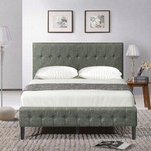 Sessa Queen Upholstered Sleigh Bed