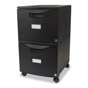 Storex 2-Drawer Mobile Vertical Filing Ca..