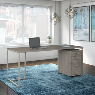 Method 2 Piece Rectangular Desk Office Suite by Kathy Ireland Office by Bush