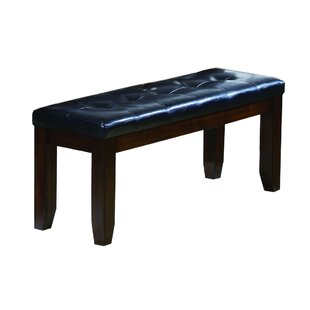 Kingsview Impressive Tufted Faux Leather Bench