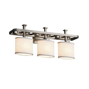 Ebern Designs Favela Arcadia 3 Light Oval Vanity Light