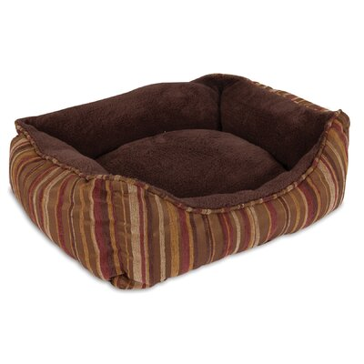Rectangular Lounger Bolster Dog Bed Aspen Pet