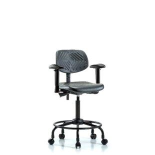 Blue Ridge Ergonomics Round Tube Base Ergonomic Office Chair