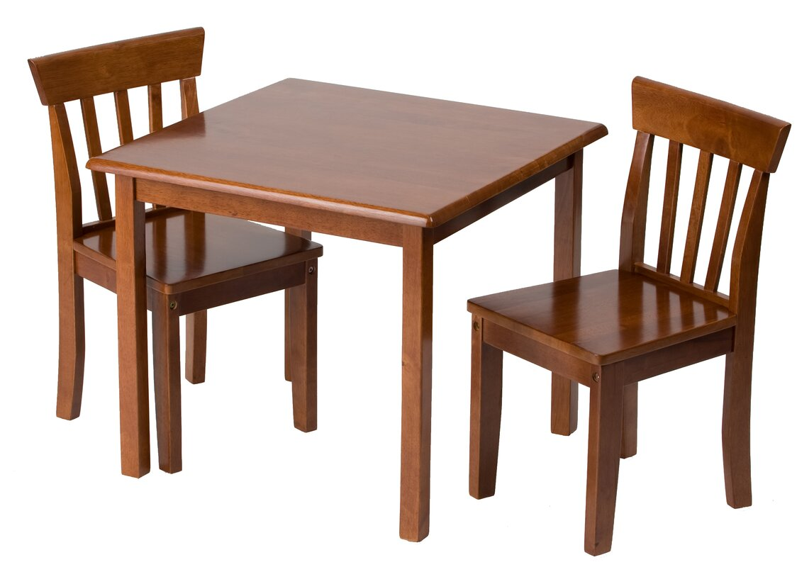 Gift Mark Children s 3 Piece Table & Chair Set & Reviews
