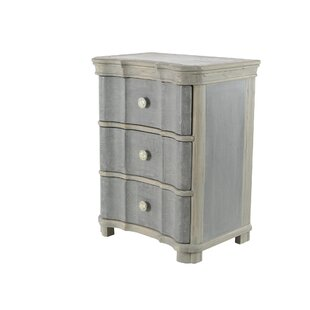 Vicknair Wood 3 Drawer Accent Chest