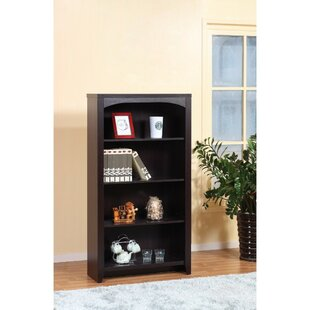 Look for Wagenen Modern Style 4-Tier Standard Bookcase By Latitude Run