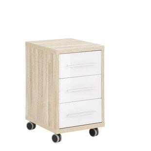 Akiko 3 Drawer Filing Cabinet By Ebern Designs