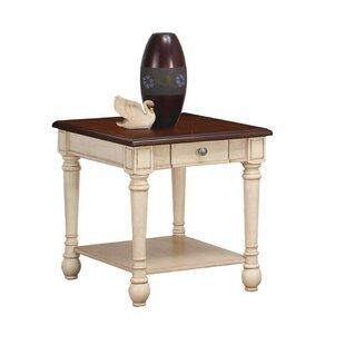 Rosalind Wheeler Chenelle End Table with Storage
