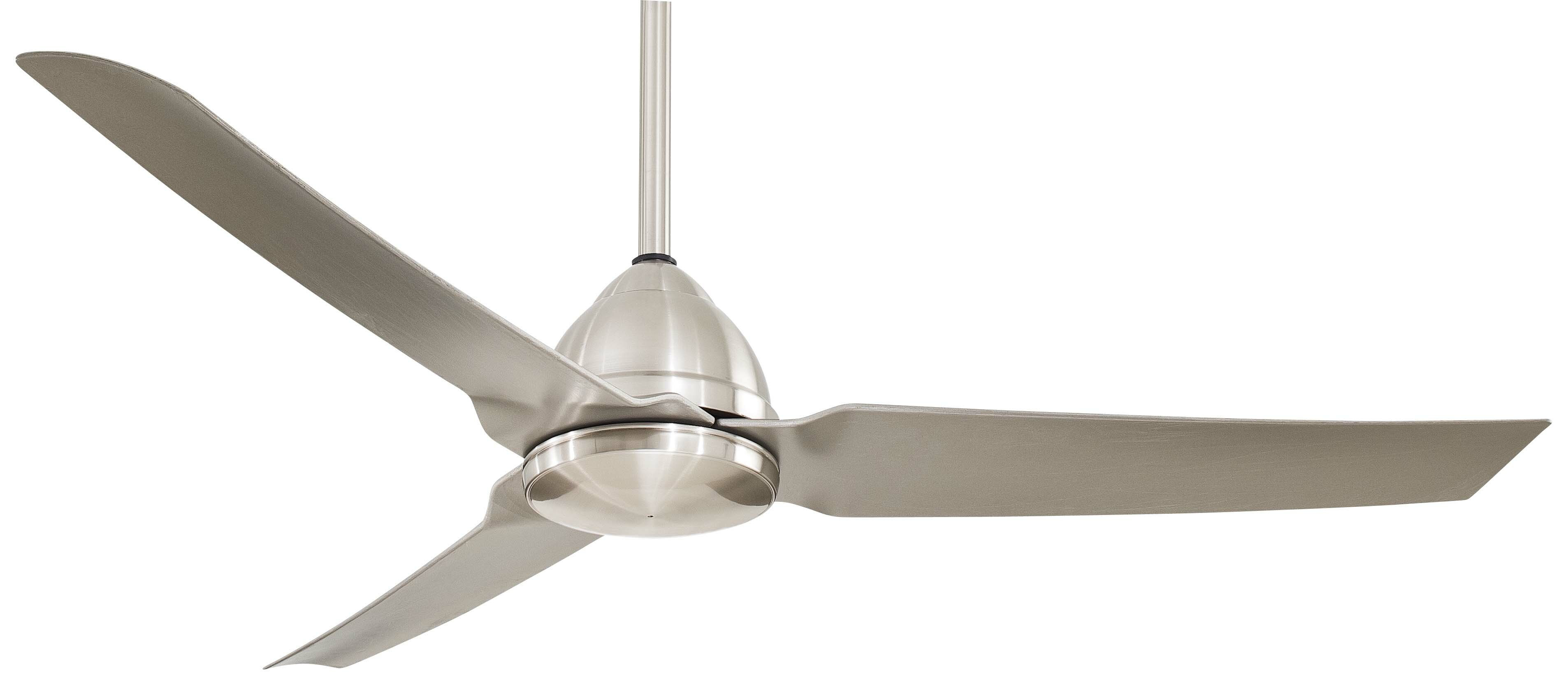 "Minka Aire 54"" Java 3 Blade Ceiling Fan with Remote & Reviews"
