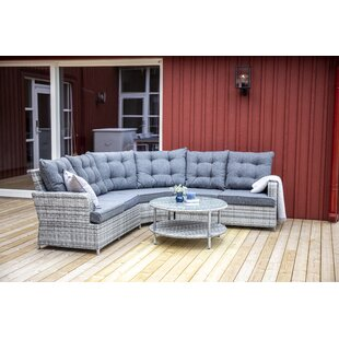 Best Price Mishti 5 Seater Rattan Corner Sofa Set