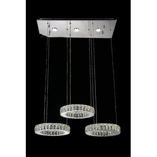 Florence LED Pendant by CWI Lighting