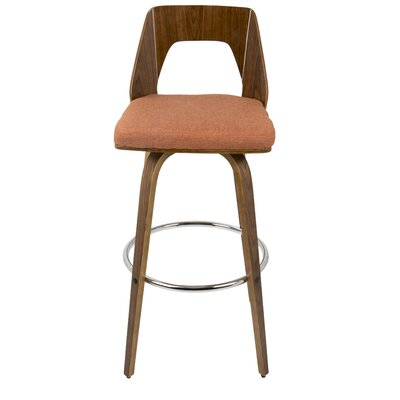 Phenomenal Langley Street Emory Bar Counter Swivel Bar Stool Upholstery Gamerscity Chair Design For Home Gamerscityorg