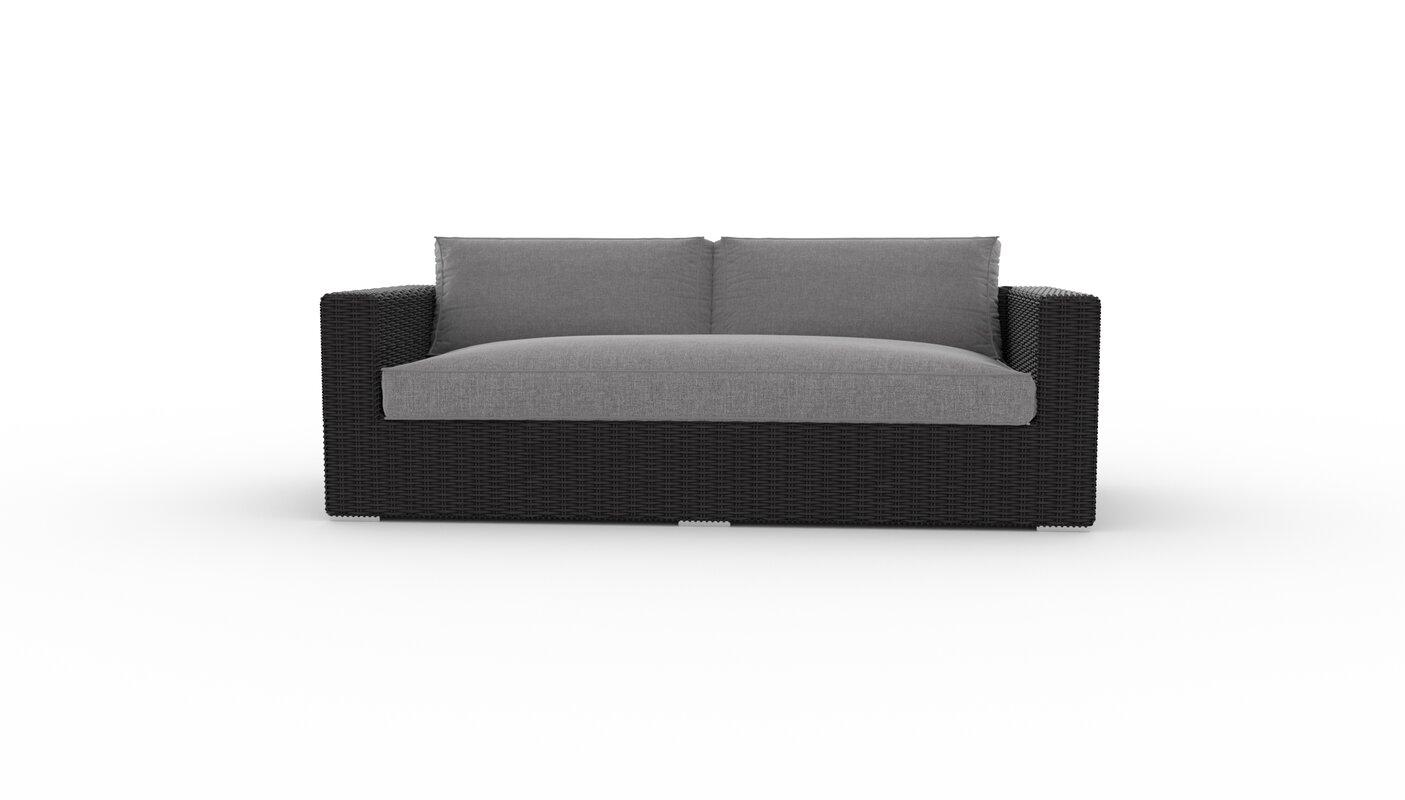 Toja Patio Furniture Yorkville Patio Sofa With Cushions Reviews