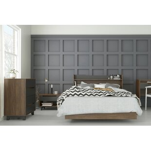 Leaman Platform 4 Piece Bedroom Set by Ebern Designs