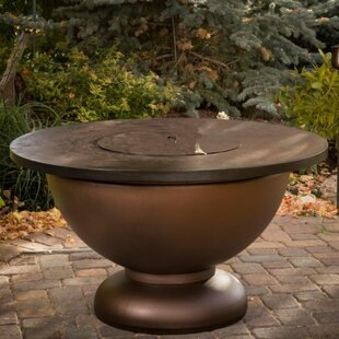 CC Products Penny Steel Natural Gas Fire Pit Table