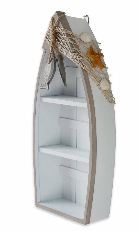 Hofmann Wooden Nautical Boat Display Wall Shelf