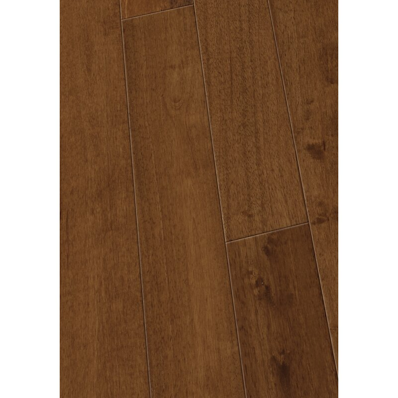 4 1 2 Solid Hevea Hardwood Flooring In Smooth Ginger
