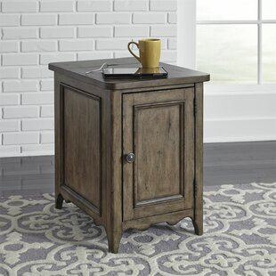 Gandy End Table with Storage by Astoria Grand