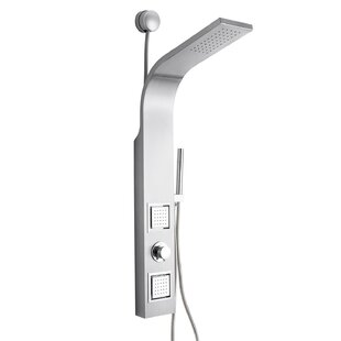 Exceptionnel Dual Shower Head Shower Panel   Includes Rough In Valve