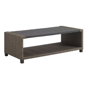 Wicker Rectangular Coffee Table