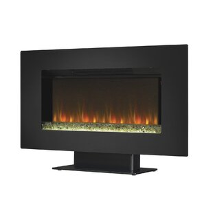 Bitting Wall Mount Electric Fireplace by Orren Ellis