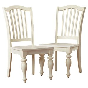 Quevillon Solid Wood Dining Chair (Set of..