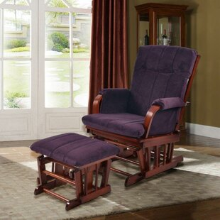 Home Deluxe Glider and Ottoman by Artiva USA