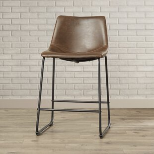 Lovelace 24.3 Bar Stool Brayden Studio