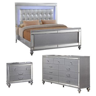 Nice Silver Bedroom Set Concept