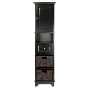 Pierrepont 1 Door Tall Accent Cabinet by Three Posts