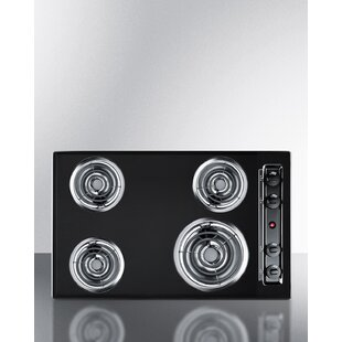 Summit 30 Electric Cooktop with 4 Burners
