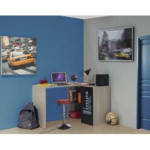 Hoeft L-Shape Desk With Mobile Top By Brayden Studio